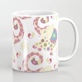Elephants pattern #52 Coffee Mug