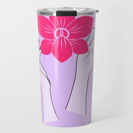 Holy orchid Travel Mug