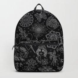 Americana Backpack Black Backpack