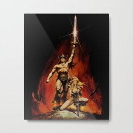 Conan the Barbarian Metal Print