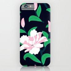 Grunge peonies iPhone 6s Slim Case