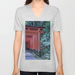 Inari Gates Galore Unisex V-Neck