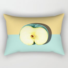 Tropical Fruit. Apple Half Slice Rectangular Pillow