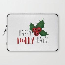 Happy Holly-Days! Laptop Sleeve