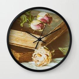 Timeworn Beauty 2 Wall Clock