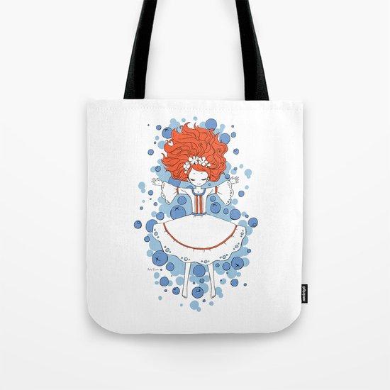 Blueberry Dream Tote Bag
