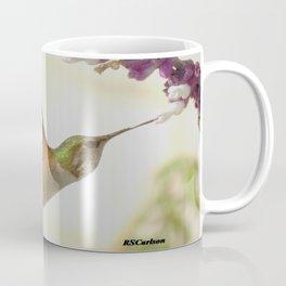 Ms. Hummingbird Checks Another Nectar Source Coffee Mug