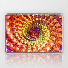Colorful spiral Laptop & iPad Skin