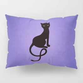 Gracious Evil Black Cat Pillow Sham
