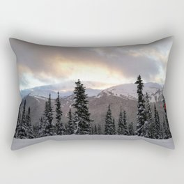 Touching the clouds Rectangular Pillow