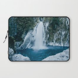 Winter Wahclella Falls Laptop Sleeve