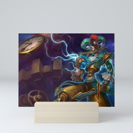 Workshop Shaco League of Legends Mini Art Print