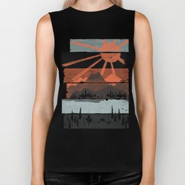 Morning by Bear River... Biker Tank