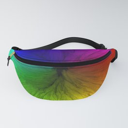 Rainbow Vortex Fanny Pack