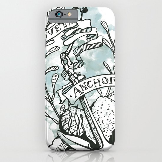 Love is an Anchor iPhone & iPod Case