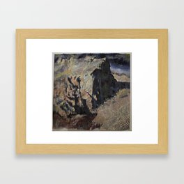 Detritus 4 Framed Art Print