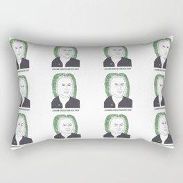 Johann Sebastian Bok Choy Rectangular Pillow