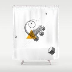 Archetypes Series: Elusiveness Shower Curtain