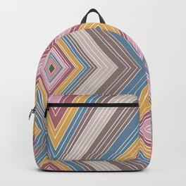 Matte Glazes - Four Diamonds - Lines - Illusions Backpack