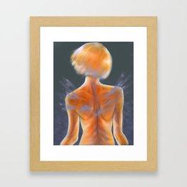 Markings Framed Art Print