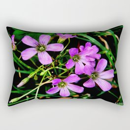 Colors in the Darkness Rectangular Pillow