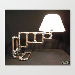 Articulated Desk Lamps - Copper and Chrome Collection - FredPereiraStudios_Page_10 Canvas Print