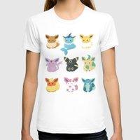 eevee T-shirts featuring Eevee Evolutions by Nozubozu