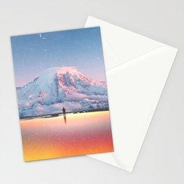 Mount Rainier Washington State Stationery Cards