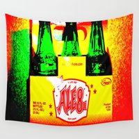 ale giorgini Wall Tapestries featuring Ale-8-One (6 Pack) by Silvio Ledbetter