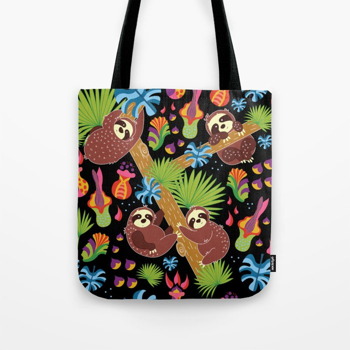 Sloths hanging out Tote Bag