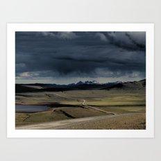 enter the highlands Art Print