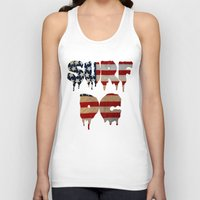 dc Tank Tops featuring Surf DC by G. Shapero
