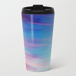 Colorful Sunset Clouds Travel Mug