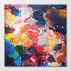 Paint Palette Canvas Print