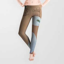 Unicorn Egret Leggings