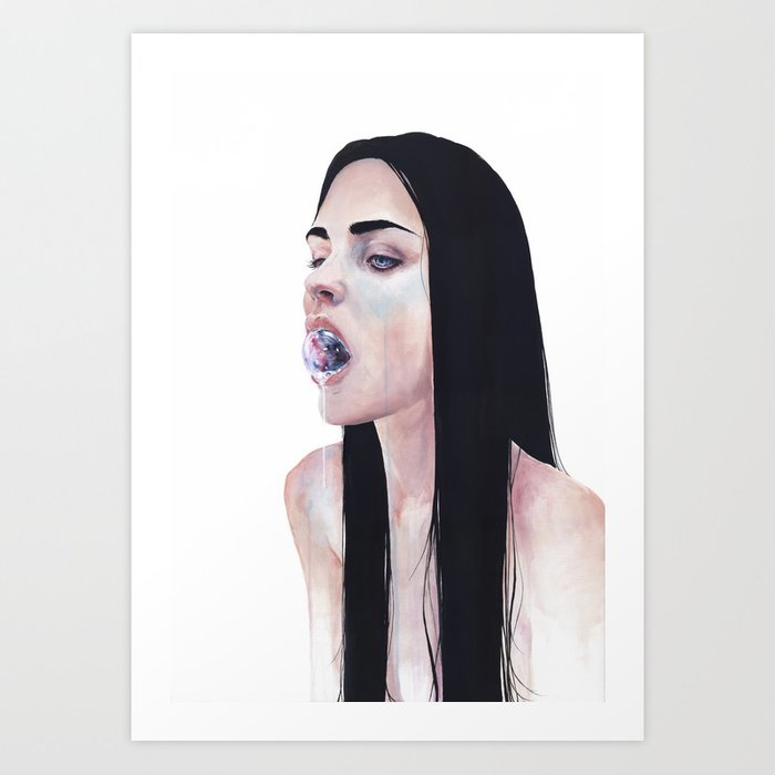 Discover the motif CONTENERE IN Sé by Agnes Cecile  as a print at TOPPOSTER