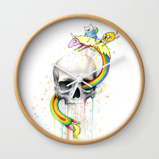 Adventure through Time and Face Wall Clock