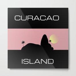 Curacao Island Metal Print