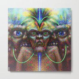 Self-Initiation Metal Print