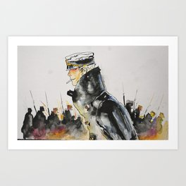 Corto Art Print