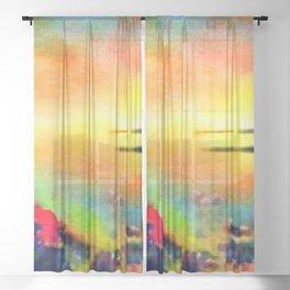 Good times Sheer Curtain