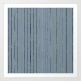 William Johnson: Stripe Art Print