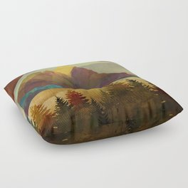 Autumn Sky Floor Pillow