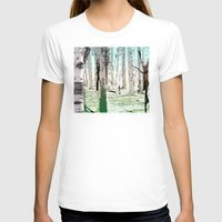 birch T-shirts featuring Birch Forest by Phil Perkins