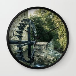 Ye olde mill Wall Clock