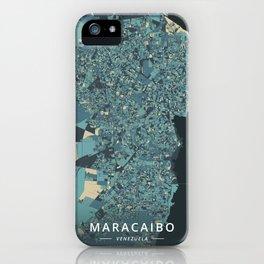 Maracaibo, Venezuela - Cream Blue iPhone Case