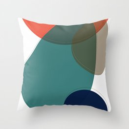 Abstract 2019 001 Throw Pillow