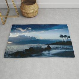 Polo Beach Dreams Maui Hawaii Rug