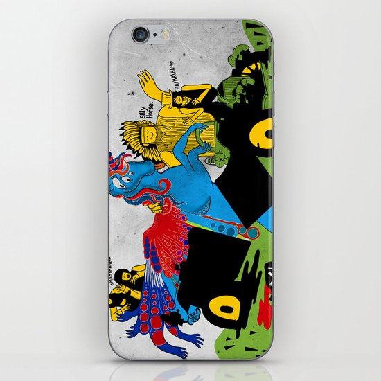 """Americana"" by Steven Fiche iPhone & iPod Skin"