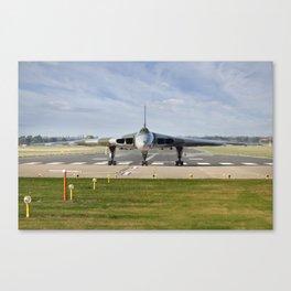 XH558 Vulcan Canvas Print